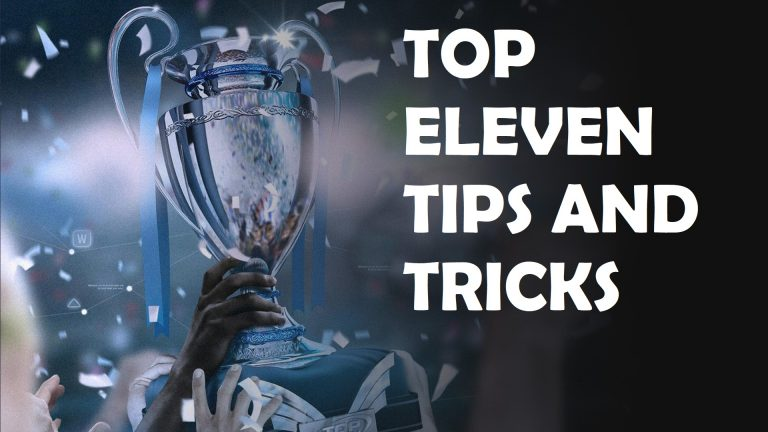 Top Eleven Tips and Tricks to win the trophy and title.