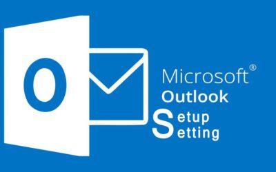 Outlook Setup Setting