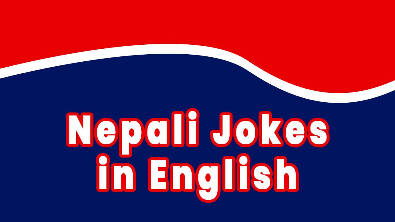 Nepali Jokes in English, beautiful Nepali looks and design banner