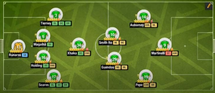 4-5-1 v style formation in top eleven 2021 tips and Tactics