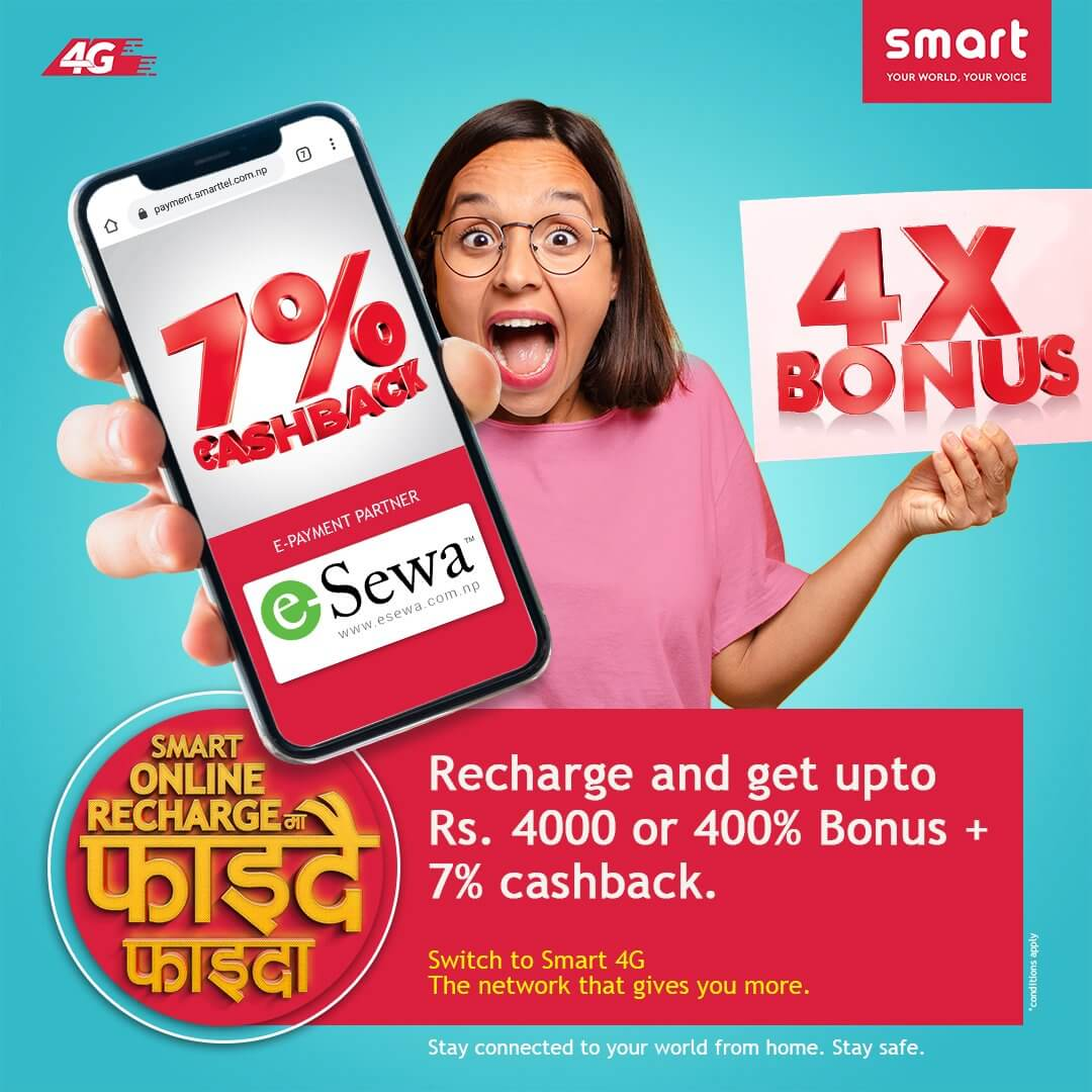 Smart Cell 4X Bonus and 7% discount