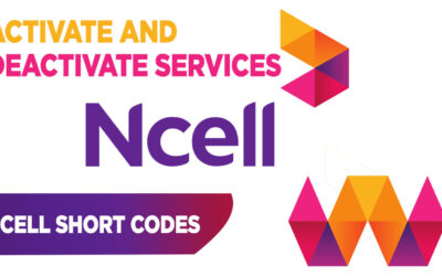 Activate and Deactivate Ncell Services