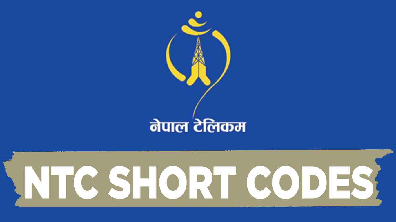 Activate and deactivate ntc services, short codes