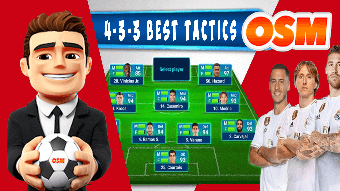 osm best football manager tactics with formation and tips and tricks