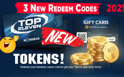 Top Eleven Redeem Codes | Top Eleven Gift card