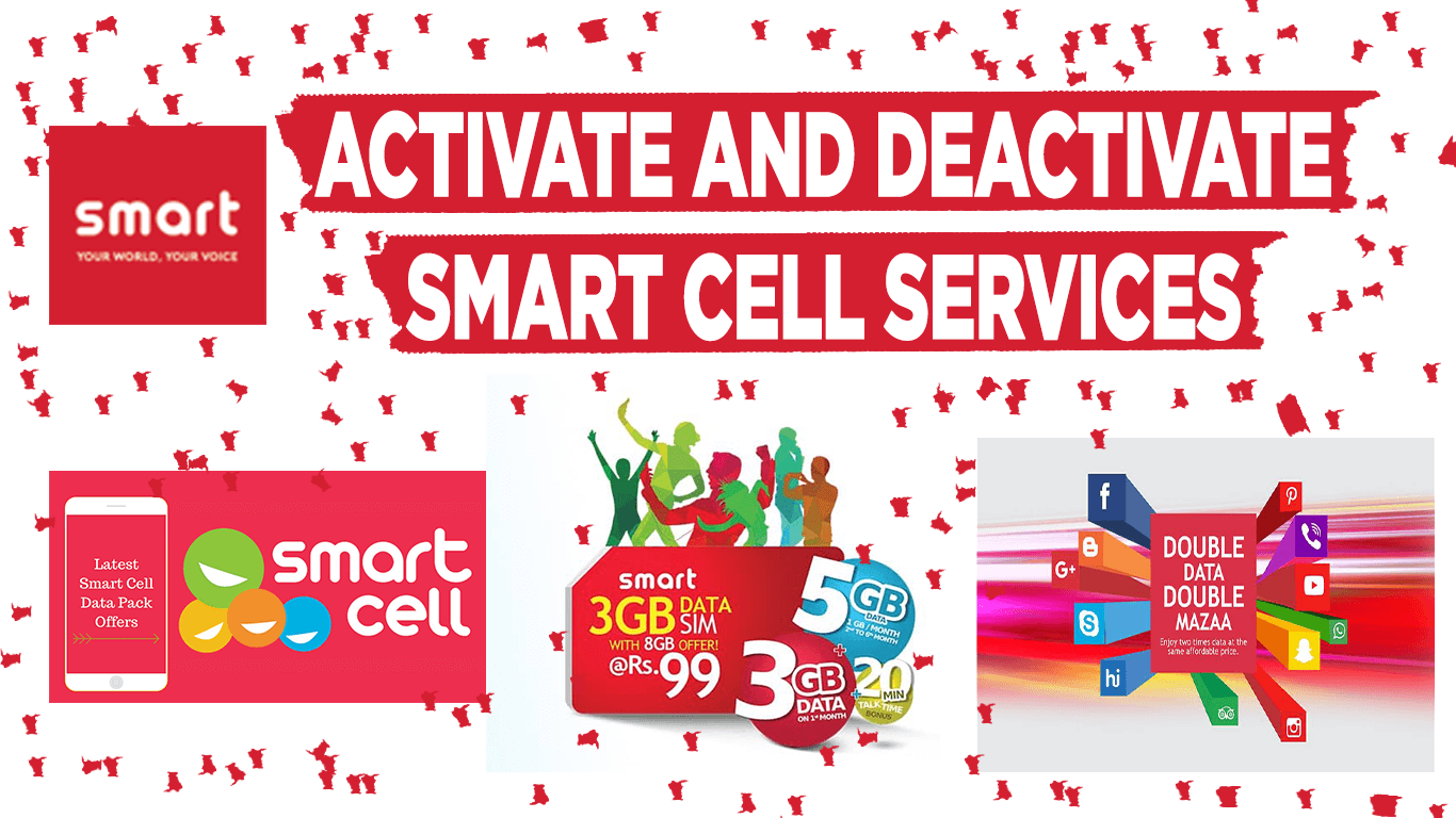 activate and deactivate smart cell services nepal sim
