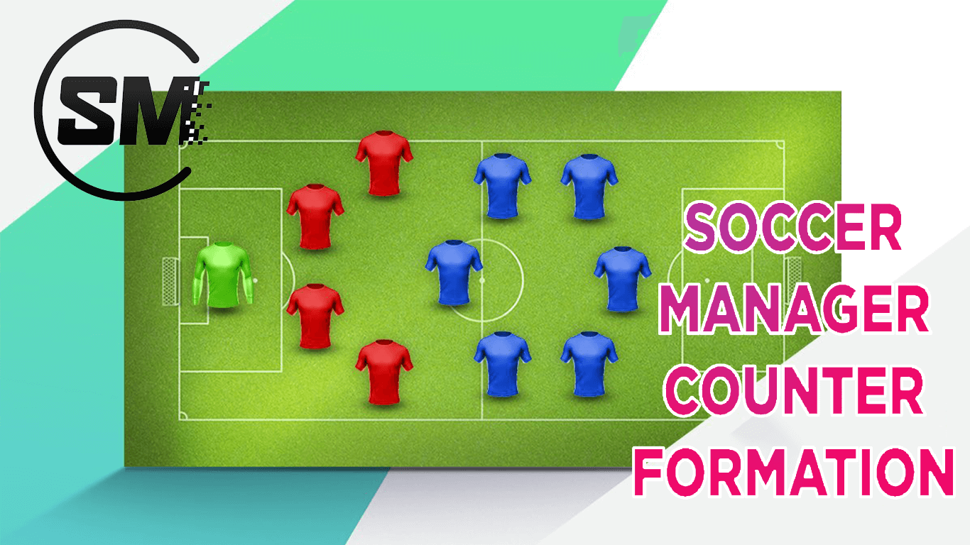 Soccer Manager Counter Formation with tactics