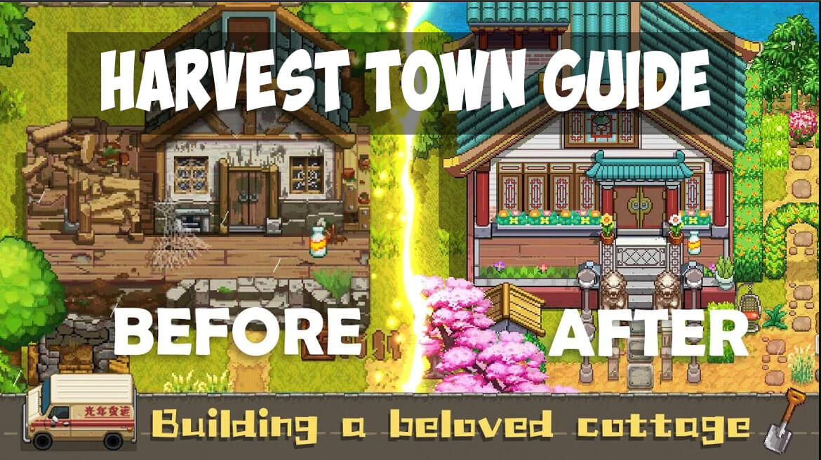 Harvest Town Guide with tips and tricks