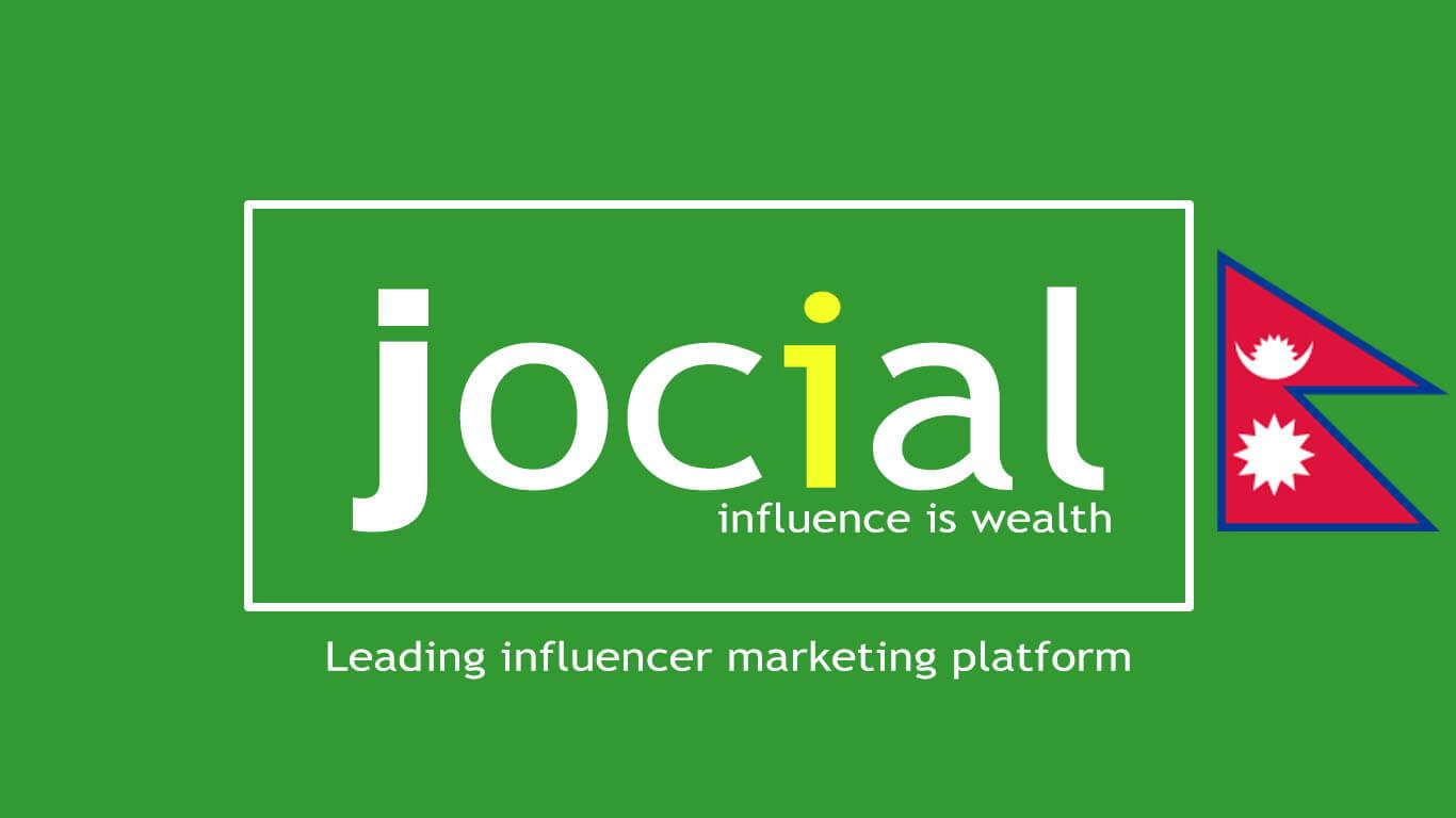 Jocial in Nepal logo for influence