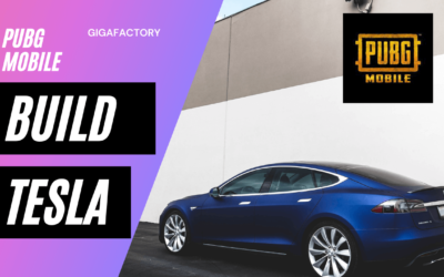 How to get or build a Tesla Car on Pubg Mobile?
