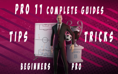 Pro 11 Complete guides with Tips and tricks